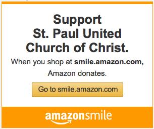Click to go to Amazon Smile and support St. Paul United Church of Christ